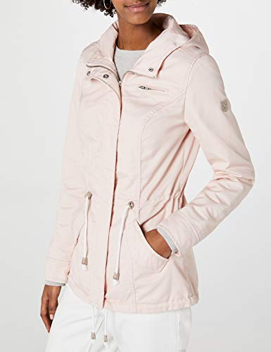 ONLY Damen Onlnew Lorca Spring Jacket CC OTW Parka, Rosa (Cameo Rose Cameo Rose), 40 (Herstellergröße: L)