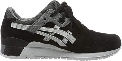 ASICS Gel Lyte III Mens Running Sneakers/Shoes-Black-6