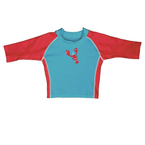 I Play garçon enfants de natation T-shirt homard Aqua - Turquoise -