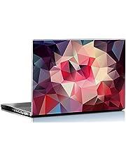PIXELARTZ Pattern Digital Polygon Art Laptop Skin (Multicolour, 15.6-inch)