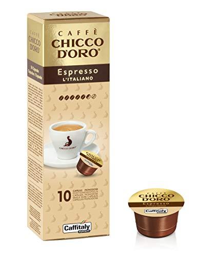 50 Capsule Espresso Italiano Chicco d'Oro - Caffitaly System