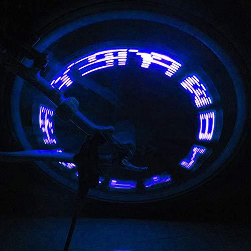 Outdoor Fahrrad Rad LED Lichter MTB 5LED Bunte Rennrad Reifen Reifen Ventilkappen Rad wasserdichte Speichen Taschenlampe Rad Ventil Licht 2PCS