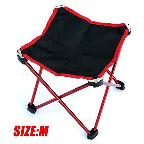 Wangbadan Acampar Silla Plegable portátil Silla Plegable portátil Ultraligero Acampar Ocio y Picni