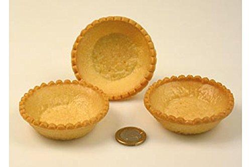 Dessert-Tartelettes, rund, ø 7cm, hell, Mürbeteig, 2,21 kg, 140 St
