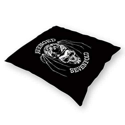 Throw Pillowcase Plush Pillowcase Super Soft Pillow Cover Case for Holding Pillow Avenged Sevenfold Logo (18' x 18')