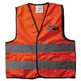 Reeves International The Big Dig Toy Safety Vest Orange, 17'L x 18'H