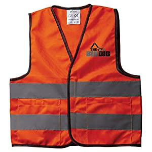 the big dig toy safety vest orange - 41WWJcBVi5L - The Big Dig Toy Safety Vest Orange