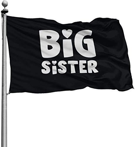 Viplili Banderas, 3x5 Feet -Polyester Flags Big Sister Flag,Yard Holiday and Seasonal Garden Flag Set