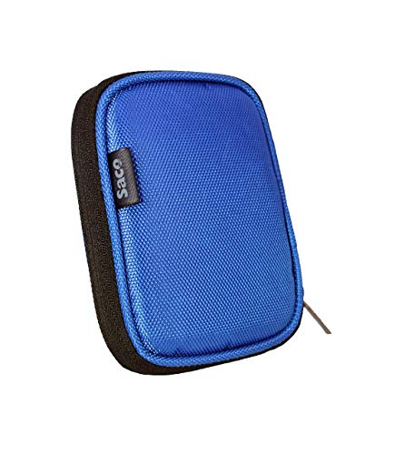 Saco Compatible for WD My Passport 1TB Portable External Hard Drive (Blue) Shock Proof External Hard Disk Case - Saco