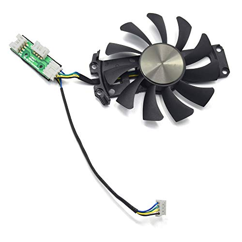 inRobert 75mm GA81S2U Grafikkartenlüfter Graphic Card Fan für ZOTAC GTX 970 AMP! Omega Core (ZT-90106-10P) Graphics Card Cooling Fans (Fan-C)