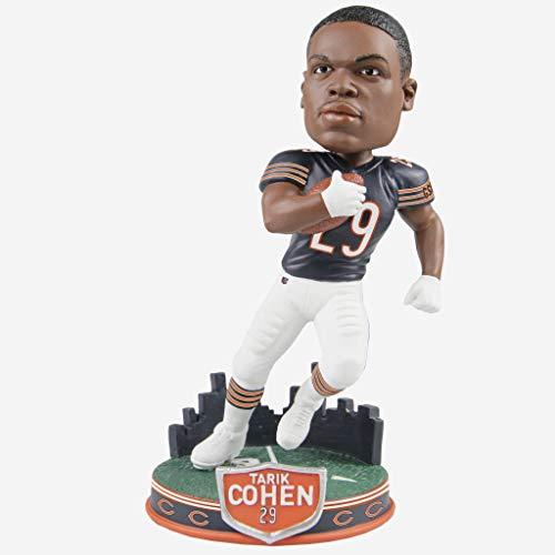 Tarik Cohen Chicago Bears City Skyline Edition Bobblehead NFL