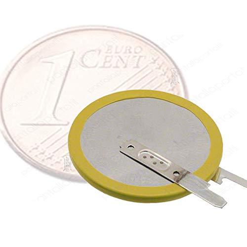 IFINGER Pila Bios CMOS para Acer Toshiba HP Compaq Toshiba Maxell ML1220 para soldar 2 Pin 3v Satellite