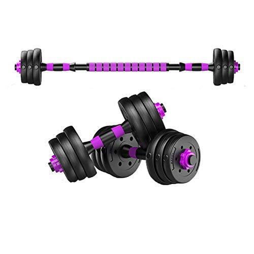 Verstellbare Hanteln, Hantel-Set für Damen und Herren, mit Verbindungsstange, kann als Langhantelstange für Zuhause, Fitnessstudio, Training, 10 kg - 40 kg, Ein Paar, 40 kg