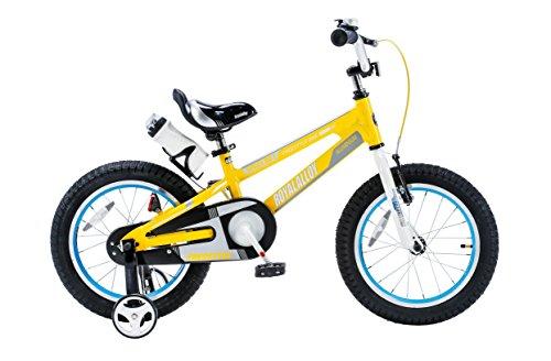 "Royalbaby Space No. 1 Kids Bicycle, 9.5""/14"", Yellow"