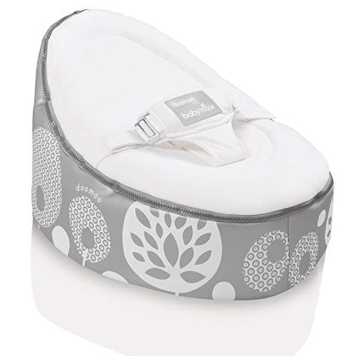 Babymoov Doomoo Nest New Generation Babywippe Flower Silber