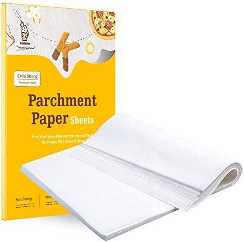Katbite 200PCS 12x16 In Heavy Duty Flat Parchment Paper Parchment Paper Sheets for Baking Cookies product image