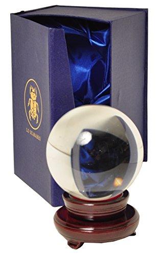 Lo Scarabeo - Wahrsagekugel: 10cm mit Halter in Box (LxBxH: 22x14x12cm)