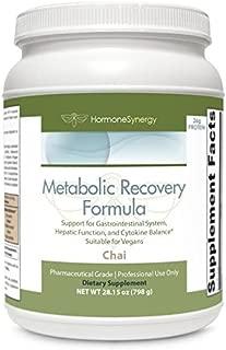 Metabolic Recovery Formula CHAI   Gastrointestinal, Hepatic and Intestinal Support*   26g Pure Vegan Protein   Non-GMO Pea/Rice   MeadowPure, Aminogen® & Quatrefolic®