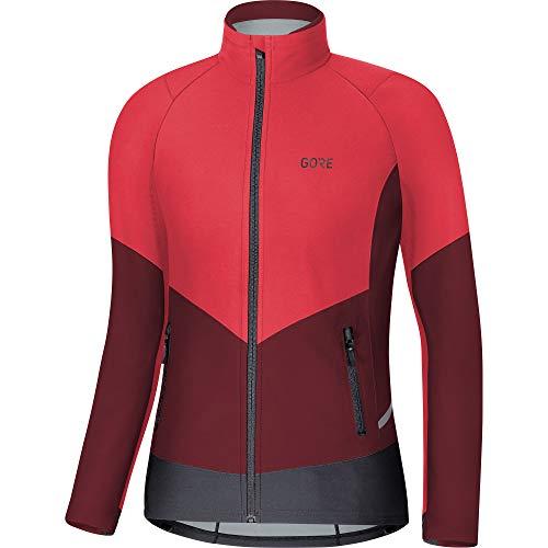 GORE WEAR X7 Damen Langlauf-Jacke Partial GORE-TEX INFINIUM , 42, Pink/Bordeaux