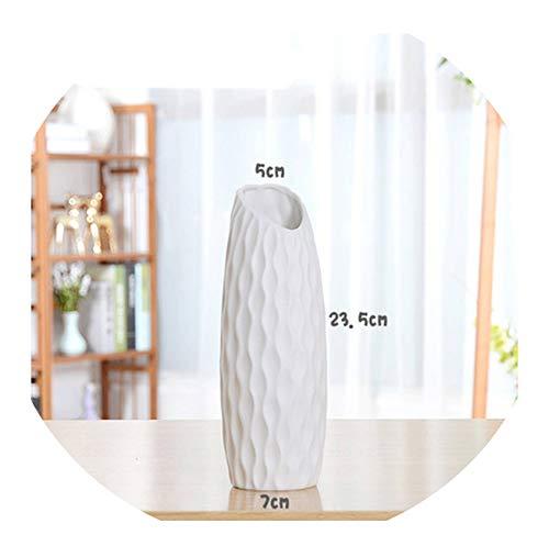 hotmoment-uk-vases, klassisch, weiß, Tisch-Vase, einfache Bodenvase, chinesische Handwerks-Dekoration, kreatives Geschenk, Heimdekoration, E208
