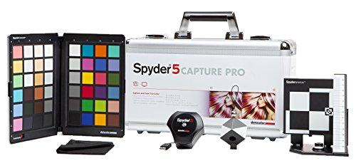 Datacolor S5CAP100 Spyder5CAPTURE PRO Color Calibration, Photography Workflow, Silver...