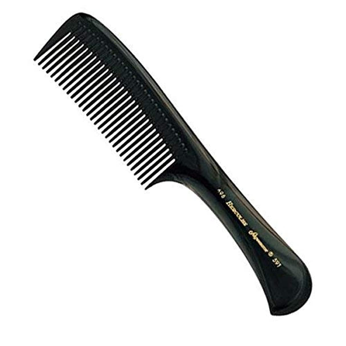 無人砦動物園Hercules Sagemann Seamless Handle Detangling Hair Comb, 22.7 cm Length [並行輸入品]