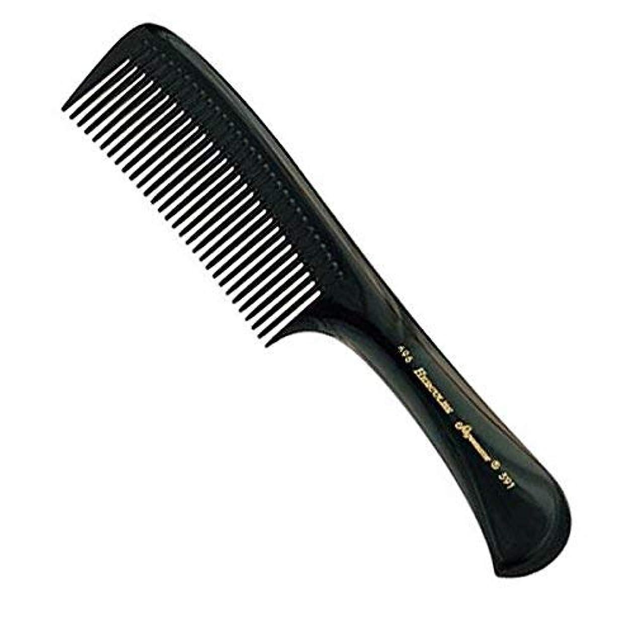 子供時代リングレット測定Hercules Sagemann Seamless Handle Detangling Hair Comb, 22.7 cm Length [並行輸入品]