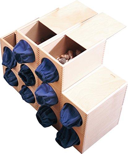 HABA 110651 Lernspielzeug Wehrfritz Fühl-es Box, Lernspiel für Kinder, Wahrnehmung & Kognition, für Kinder