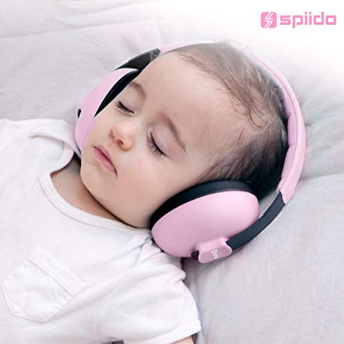 Image of [2020 Upgrade] The Best Baby Ear Protection for Babies & Toddlers Ages 1-24+ Months Spiido Baby Earmuffs Infant Hearing Protection for Sleeping, Travels, Fireworks, Concerts & Sporting Events