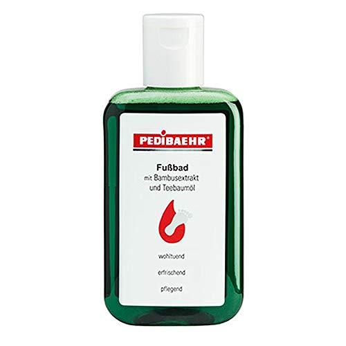 Pedibaehr Fußbad mit Bambusextrakt und Teebaumöl, 200 ml