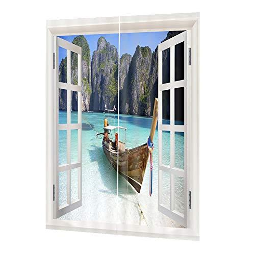 cortinas transparentes dormitorio
