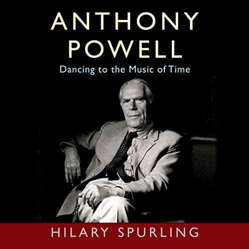 Anthony Powell audiobook cover art