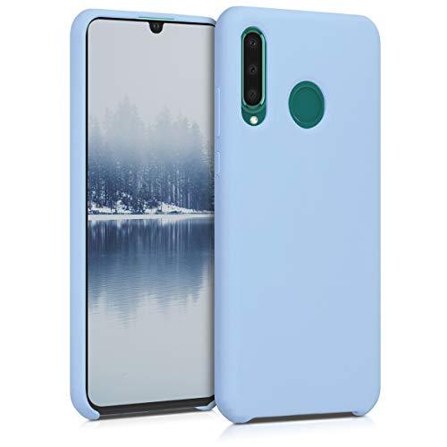 kwmobile Carcasa Compatible con Huawei P30 Lite - Funda de Silicona para móvil - Cover Trasero en Azul Claro Mate
