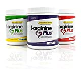 #1 L-Arginine Plus - Multi Flavor 3-Pack - for Better Blood Pressure, Cholesterol, Energy, Blood Flow, Muscle Development & More - #1 L-arginine Supplement - Get 1 Bottle of Each Flavor