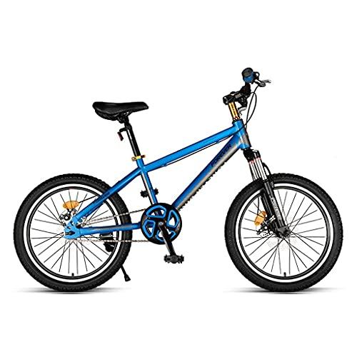 Bicicleta De Montaña De 20 Pulgadas, Mango De Freno Ajustable, Bicicleta De Carretera para Deportes Al Aire Libre, para Niños De 8 A 14 Años Que Montan Al Aire Libre