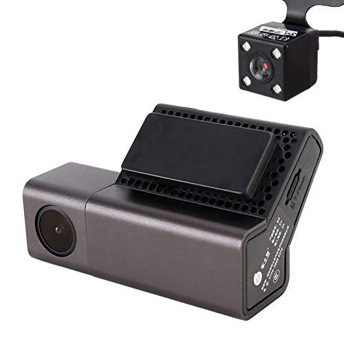 YANTAIAN E3 WiFi Mini Coche Dash cámara Oculta del vehículo Monitor de HD 1080P dashcam videocámara del Video de la detección de Movimiento, Soporte App y Tarjeta de TF