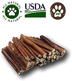 Top Dog Chews Premium Bully Sticks By Great Lakes - All Natural Dog Treats (25 Pack)