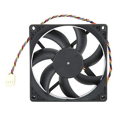Enfriador de Aire de CPU 12V 9CM 0.27A Ventilador de disipador de Calor de Doble Bola 4-Pin PWM Control de Temperatura Enfriador de CPU para chasis