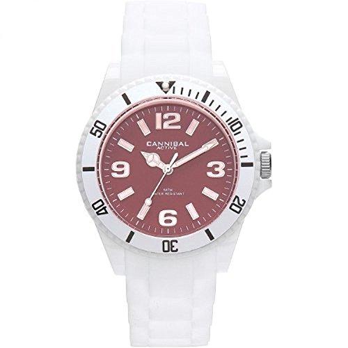 Cannibal Unisex Analog Quarz Uhr mit Silikon Armband CJ209-01H