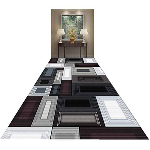 Alfombras Yun Moderno Corredor Antideslizante De Fibra De Poliéster, Apto For La Cocina Escalera Felpudo De Entrada, Lavables, Los Varios Tamaños (Size : 60x100cm)