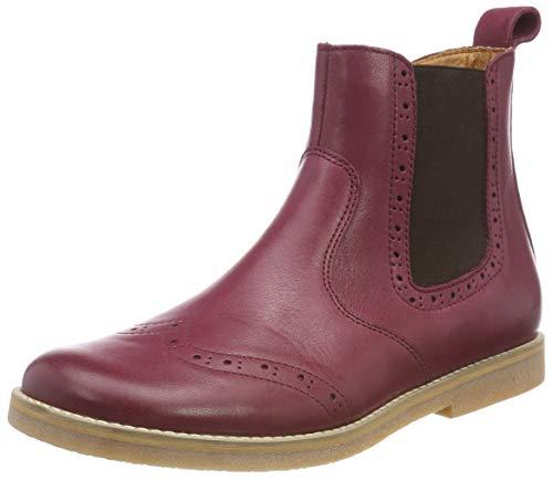 Froddo Mädchen Girls G3160080-8 Chelsea Boots, Rot (Bordeaux I28), 32 EU