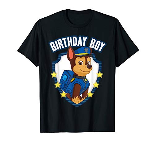 Nickelodeon Paw Patrol Birthday Boy Apparel PP1070 T-Shirt
