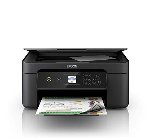 Epson Expression Home Xp-3100 Stampante 3-In-1, Display LCD 3.7 Cm, Stampa Fronte Retro in A4, Wi-Fi e Wi-Fi Direct, Stampa da Dispositivi Mobili, 37.5 X 30 X 17 Cm, Nero