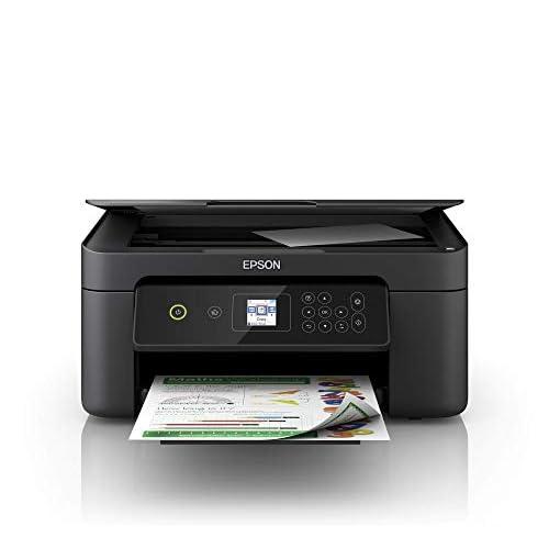 Epson Expression Home Xp-3100 Stampante 3-In-1, Display LCD 3.7 Cm, Stampa Fronte/Retro in A4, Wi-Fi e Wi-Fi Direct, Stampa da Dispositivi Mobili, 37.5 X 30 X 17 Cm, Nero