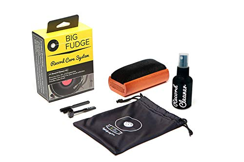 Big Save! #1 Record Cleaner Kit - Complete 4-in-1 Vinyl Cleaning Solution, Includes Velvet Record Br...