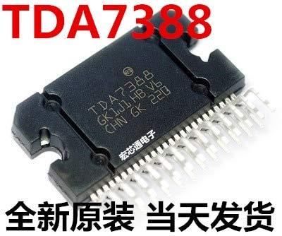 2 unids/lote TDA7388 ZIP25 TDA7388A ZIP 7388A ZIP-25 42W quad bridge amplificador de radio de coche nuevo y original en stock