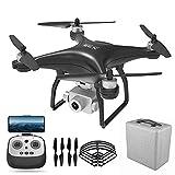 JJDSN Drone con cámara 4K HD Camera Drone FPV Live Video y GPS Auto Return Compact RC Quadcopter para Principiantes y Profesionales, Vuelo Largo 20 Minutos