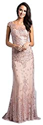 Blush Lara 33620 Embellished Long Dress
