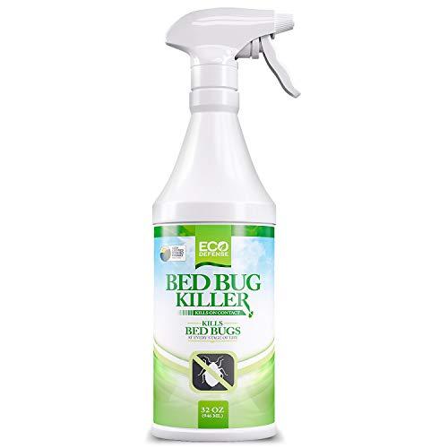 Eco Defense Bed Bug Killer, Natural Organic Formula Fastest (32 oz)