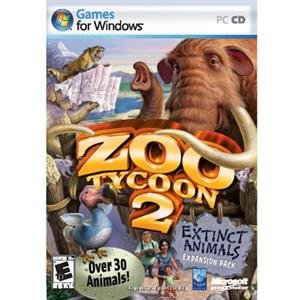 NEW Zoo Tycoon 2: Extinct Animals (Videogame Software)